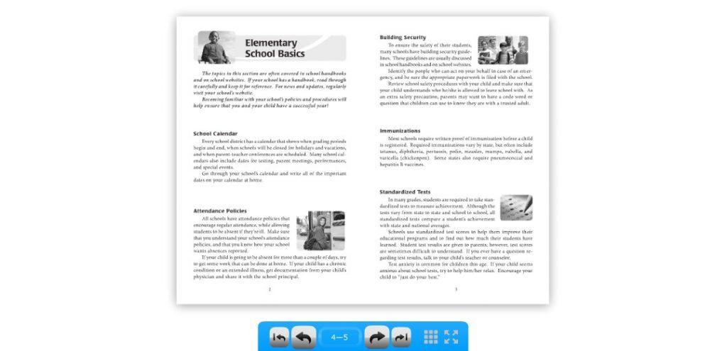 SchoolShelf flipbook 2