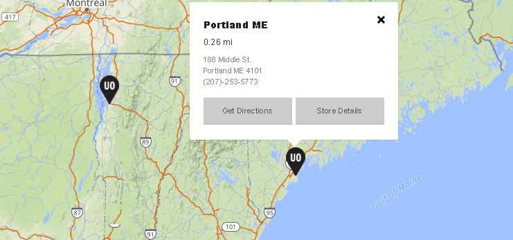 urban outfitters store locator example