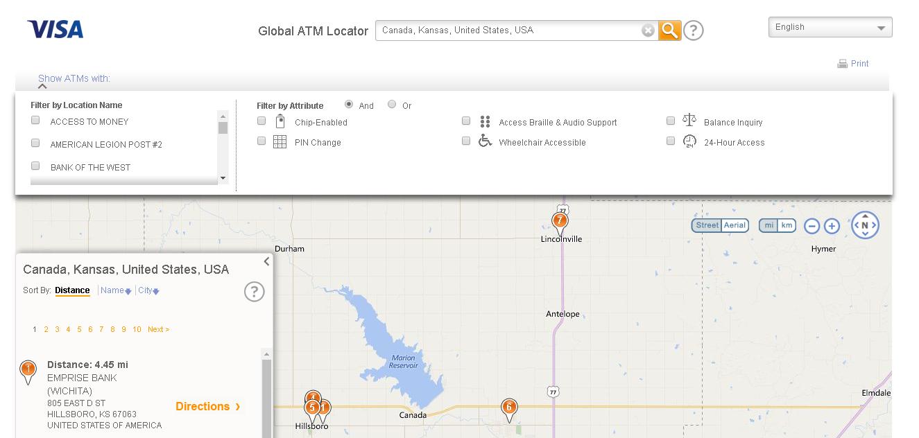 visa atm locator example